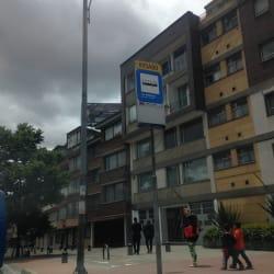Paradero SITP Barrio Las Américas - 695A00 en Bogotá