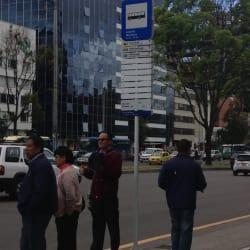Paradero SITP Conjunto Mirasierra - 159A01 en Bogotá