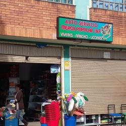 Auto servicio mercal popular J&F en Bogotá