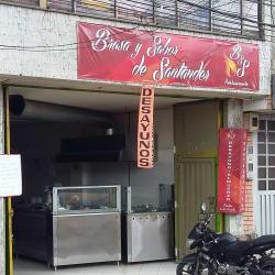 Brasa y sabor de santander en Bogotá