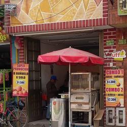 Buñuelos en la 113B  en Bogotá