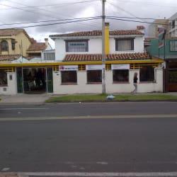 Restaurante Fractales Calle 136 en Bogotá
