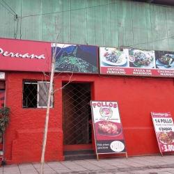 Restaurant Contigo Peru en Santiago