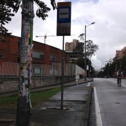 Paradero SITP La Cabrera - 363A00 en Bogotá