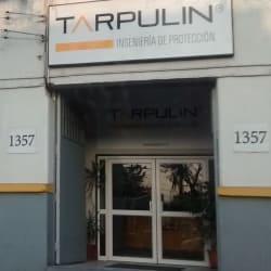 Tarpulin en Santiago