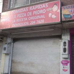 Comidas Rapidas La Pizza de Pedro en Bogotá
