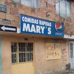 Comidas Rápidas Mary's en Bogotá