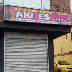 Distribuidora de Licores y Dulceria Aki Es en Bogotá
