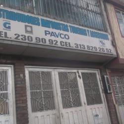 Distribuidores Mayoristas Tuberias y Accesorios Pavco en Bogotá