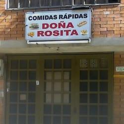 Doña Rosita comidas rapidas en Bogotá