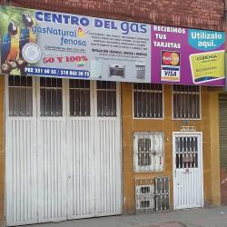 Central del Gas en Bogotá