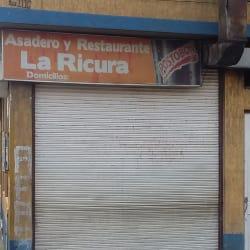 Asadero y Restaurante La Ricura en Bogotá