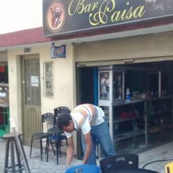 Bar Paisa en Bogotá
