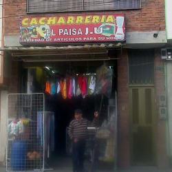 Cacharreria El Paisa J.U.  en Bogotá
