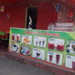 Cafetería la nuestra en Bogotá