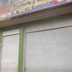 Fruteria y Heladeria El Triunfo en Bogotá
