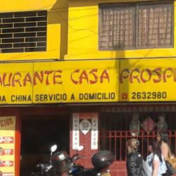 Restaurante Casa Prospera en Bogotá