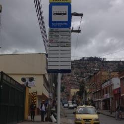 Paradero SITP Barrio San Cristóbal Norte - 102A01 en Bogotá