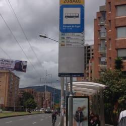 Paradero SITP Parques de Capri - 208A01 en Bogotá