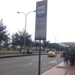 Paradero SITP Centro Comercial Iserra 100 - 001A00 en Bogotá