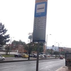 Paradero SITP Los Andes - 171A03 en Bogotá