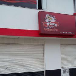 La pizza de juancho en Bogotá