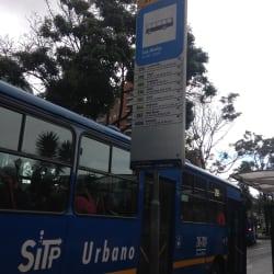 Paradero SITP Barrio Los Andes - 170A03 en Bogotá