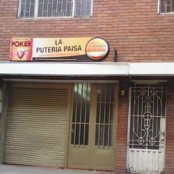 La Puteria Paisa en Bogotá