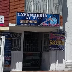 Lavandería al minuto   en Bogotá