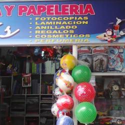 Libreria y papeleia en Bogotá