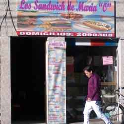 """Los Sandwinch de Maria """"O"""" en Bogotá"""