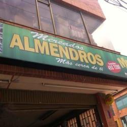 Mercado los almendros en Bogotá