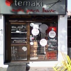 Temaki Sushi en Santiago