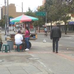 Puesto de Venta de Fruta Calle 93A en Bogotá