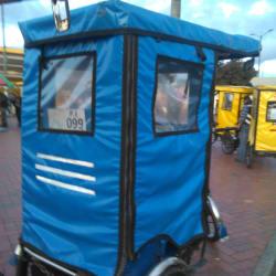 Bicitaxi # 099 Asoprobisuba Portal Suba en Bogotá