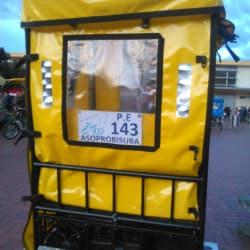 Bicitaxi # 143 Asoprobisuba Portal Suba en Bogotá