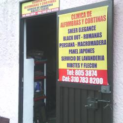 Clinica de Alfombras y Cortinas en Bogotá