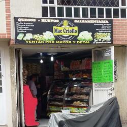 Distripollos Mac Criollo en Bogotá