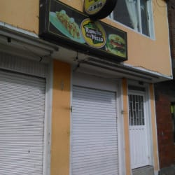 El Rancho de la pizza en Bogotá