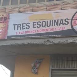 Tres Esquinas en Bogotá