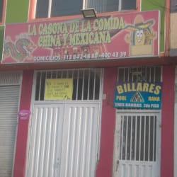 La Casona de La Comida China y Mexicana en Bogotá