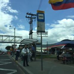 Paradero SITP Barrio Canaima - 274A01 en Bogotá
