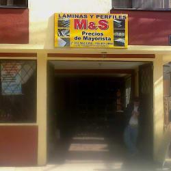 M&S laminas y perfiles en Bogotá