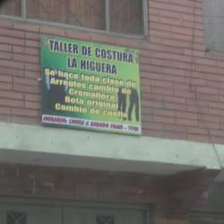 Taller de Costuras la Higuera en Bogotá