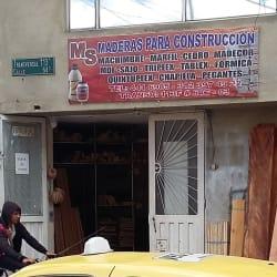 MS maderas para construccion en Bogotá