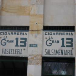 Cigarrería La gran 13 en Bogotá