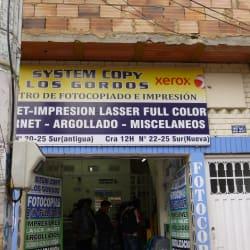 System Copy Los Gordos en Bogotá