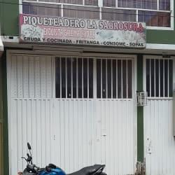 Piqueteadero La Sabrosura en Bogotá
