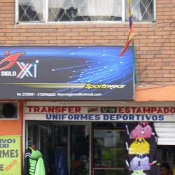 Siglo XXI Sportswear en Bogotá
