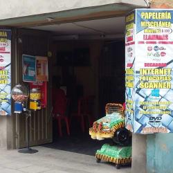 Papelería Miscelanea Minutos $100 en Bogotá